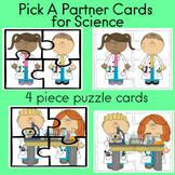 Pick A Partner Cards for Science