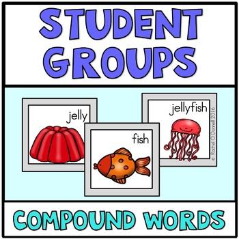 Pick a Partner Cards Compound Words