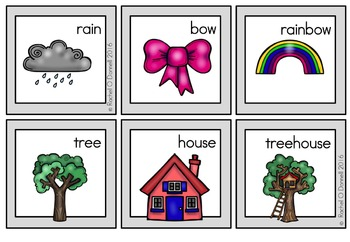Pick a Partner Cards Compound Words