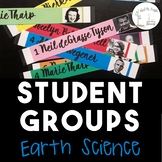 Student Groups (Earth and Space Science)