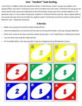 Student Groups- UNO Themed