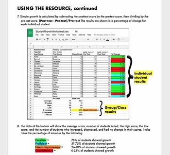 Student Growth Data Tracker - Google Drive
