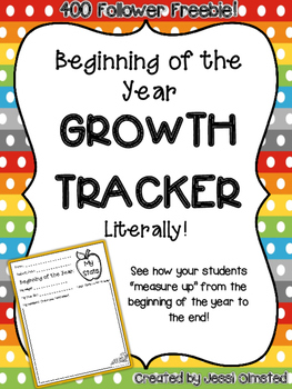 Student ~Growth~ Tracker - Literally!