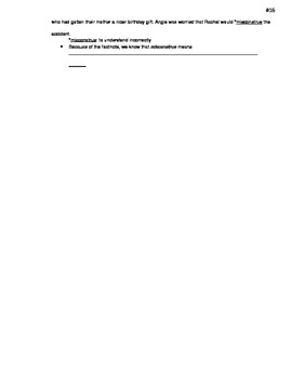Student Guided Notes - Context Clues