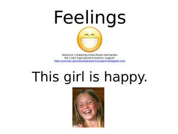 Student Guided Reading Book: Feelings