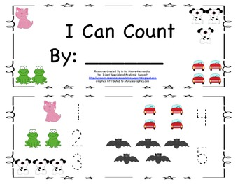 Student Guided Reading Book: I Can Count