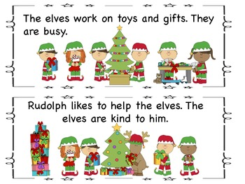 Student Guided Reading Book: The Story of Rudolph