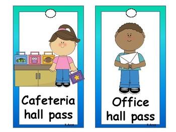 Student Hall Passes