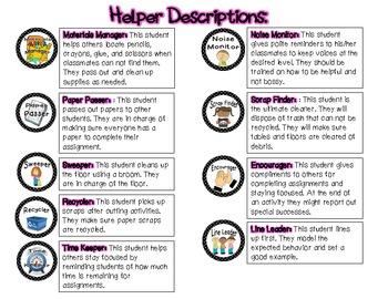 Student Helper Badges