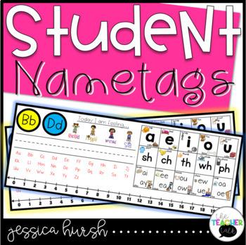 Student Helper Nametags