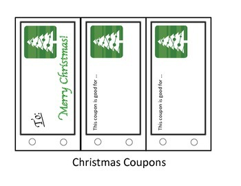Student Holiday Gift Coupons