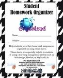 Student Homework Organizer