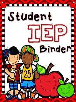 Student IEP Binder