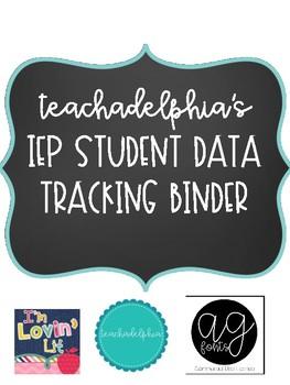 Student IEP Tracking Binder