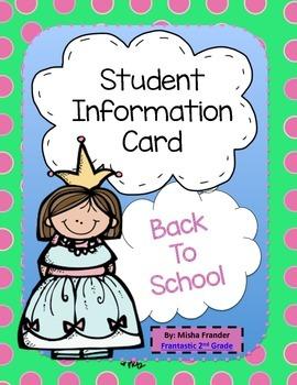 Student Identification Card