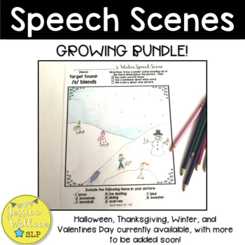 Speech Scenes Growing Bundle