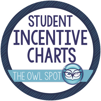 Student Incentive Charts - Dot Themed