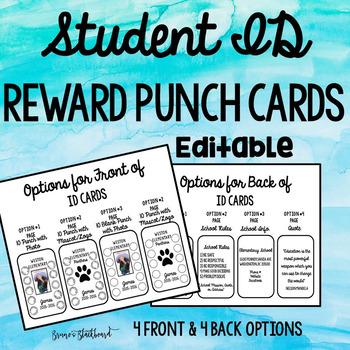 Student Incentive ID Badge