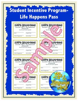 Student Incentive Program- Life Happens Pass