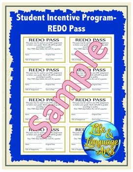 Student Incentive Program- REDO Pass