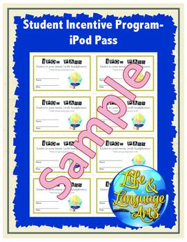 Student Incentive Program- iPod Pass