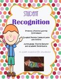 Student Incentives, Brag Tags, Positive Reinforcement, Pos
