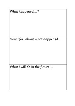 Student Incident Reflection