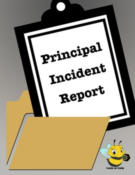 Student Incident Reports for Elementary School-Middle School Principals