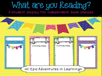 Student Independent Reading Display