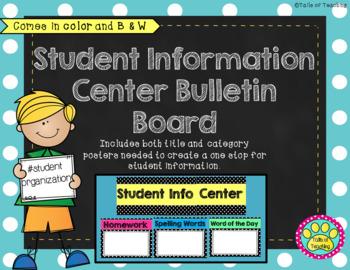 Focus Wall Bulletin Board