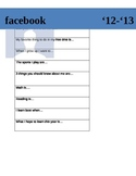 Student Info. Sheet (Facebook style)