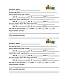 Student Information