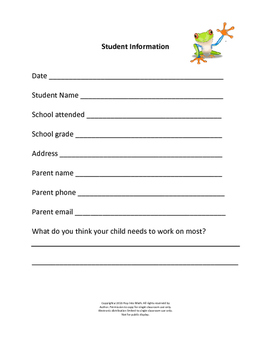 Student Information