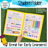 Student Information Folder, Homework Helper, Desk Mat - Lower Primary