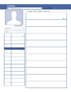 Student Information - Getting to Know You via Facebook