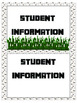 Minecraft Theme - Student Contact Form-Information at your