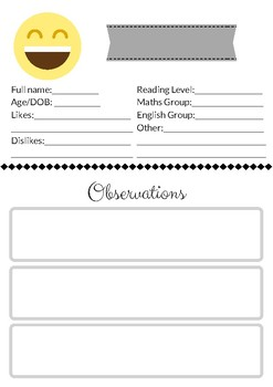 Student Information & Observation
