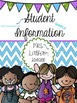 Student Information Pack: Editable!