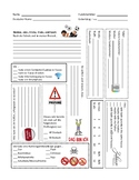 Student Information Sheet German 3 and up - Back to School