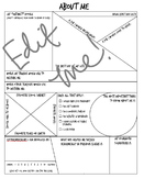 Student Information Sheet - High School/Middle School - Editable