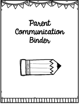 Student Information Sheet & Parent Communication Log