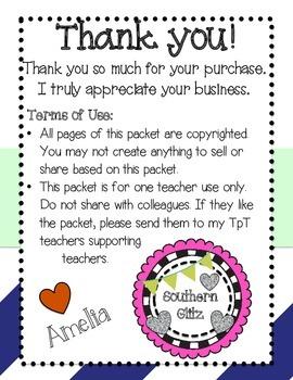 Student Information Sheet for Kindergarten