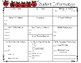 Student Information Sheet freebie for K - 5