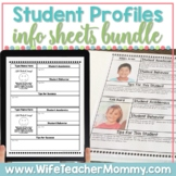 Student Information Sheets (Editable)