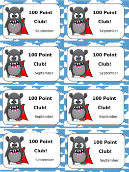 Locker Tags for 100 Dojo Points!