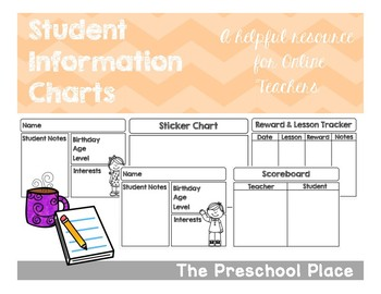 Student Information Tracker- Online Teaching/VIPKID/ESL/ELL
