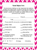 Student Information and Parent Helper Forms-Pink