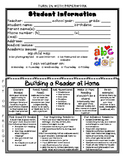 Student Information and Reading Strategies