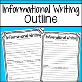 Student Informational Writing Outline