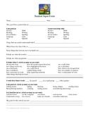 Student Input Form: Parent/Teacher Meetings